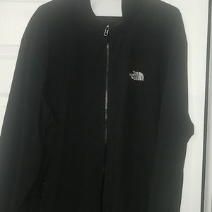 Men's  The North Face Fleece Jacket-2x Blk